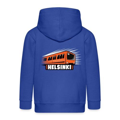 Helsinki Metro T-Shirts, Hoodies, Clothes, Gifts - Lasten premium hupparitakki