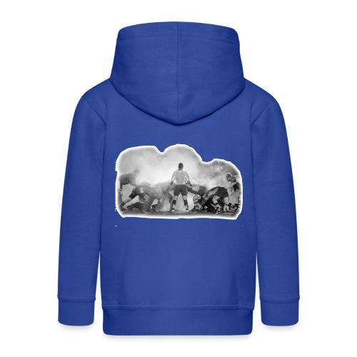 Rugby Scrum - Kids' Premium Hooded Jacket