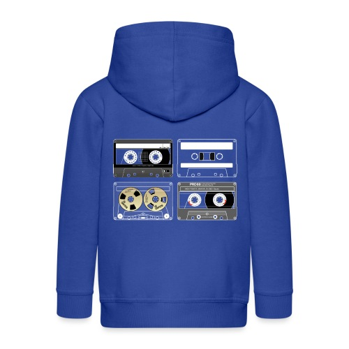 4 cassettes - Kids' Premium Hooded Jacket