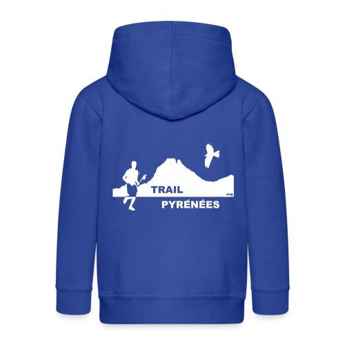 Trail Pyrénées sans Manches F1 - Veste à capuche Premium Enfant