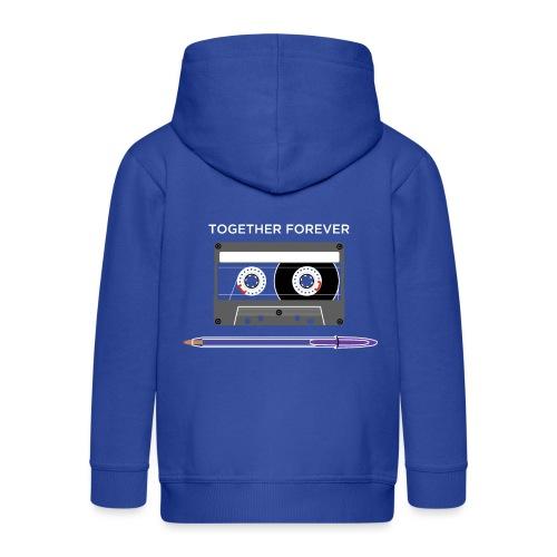 Together forever II - WA - Kids' Premium Hooded Jacket