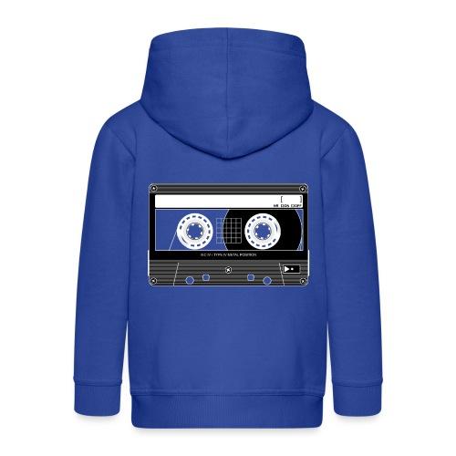 TDK Cassette Metal 90s - Kids' Premium Hooded Jacket