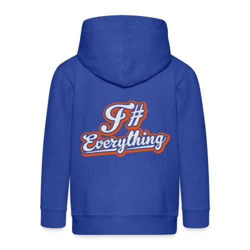 F# Everything - Kids' Premium Hooded Jacket