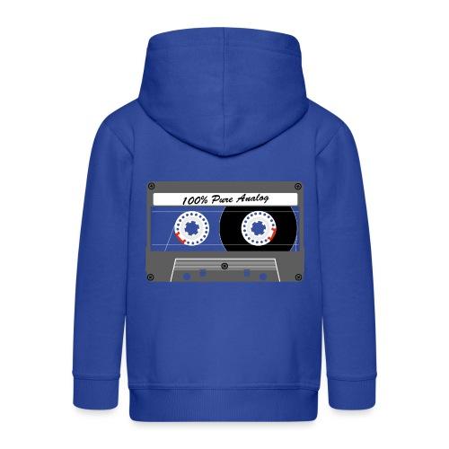 Cassette Pure Analog - Kids' Premium Hooded Jacket