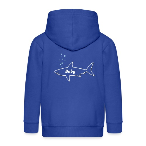 Baby shark - Fathers Day gift - Matching outfit - Kinder Premium Kapuzenjacke
