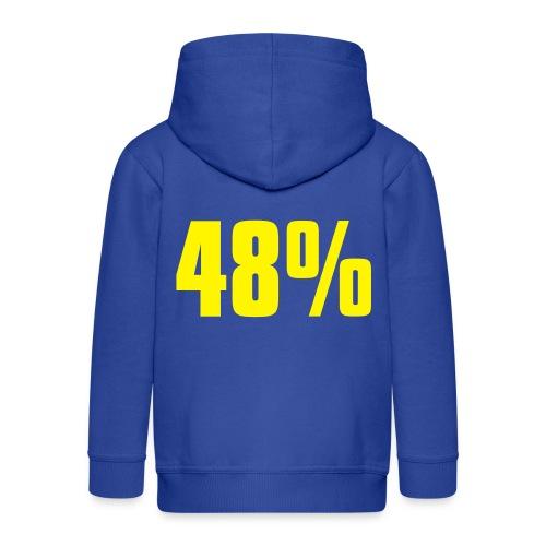 48% - Kids' Premium Hooded Jacket