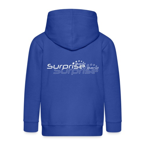 Logo Suprise Band mit Cut-Out - Kinder Premium Kapuzenjacke