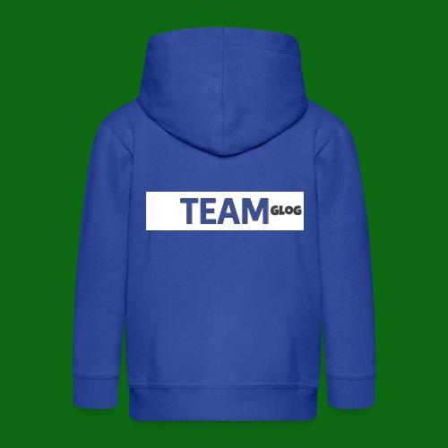 Team Glog - Kids' Premium Zip Hoodie