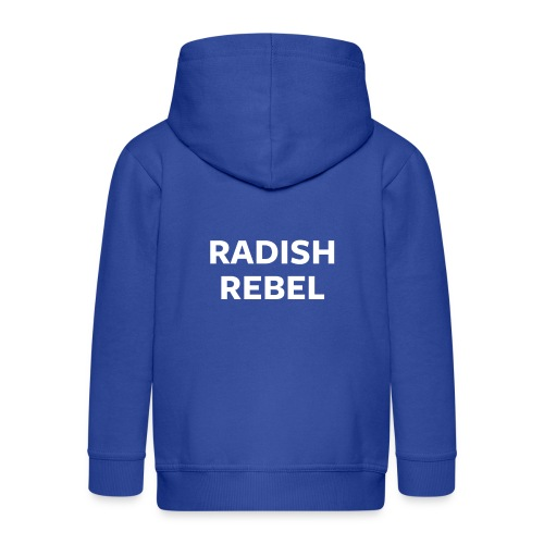 Radish Rebel Night Mode - Kids' Premium Zip Hoodie