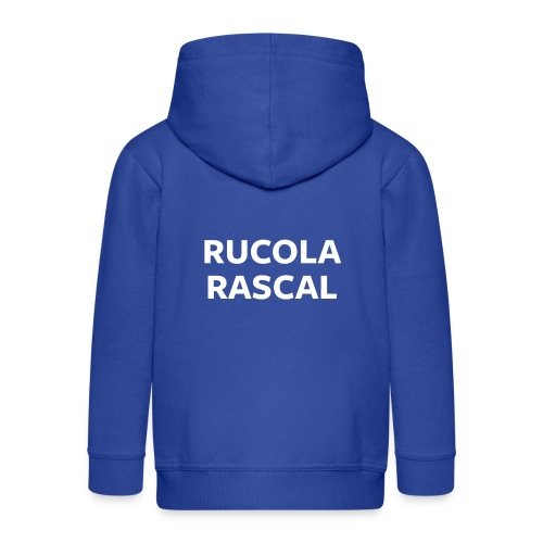 Rucola Rascal Night Mode - Kids' Premium Zip Hoodie
