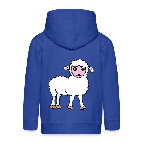 Minos le petit agneau - Veste à capuche Premium Enfant