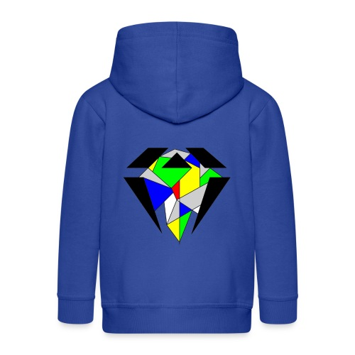 J.O.B. Diamant Colour - Kinder Premium Kapuzenjacke