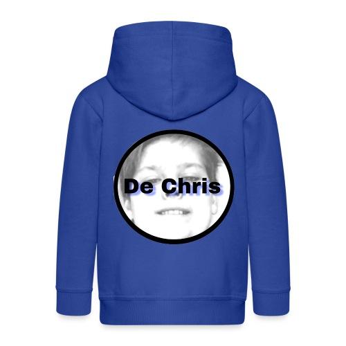 De Chris logo - Kinderen Premium jas met capuchon
