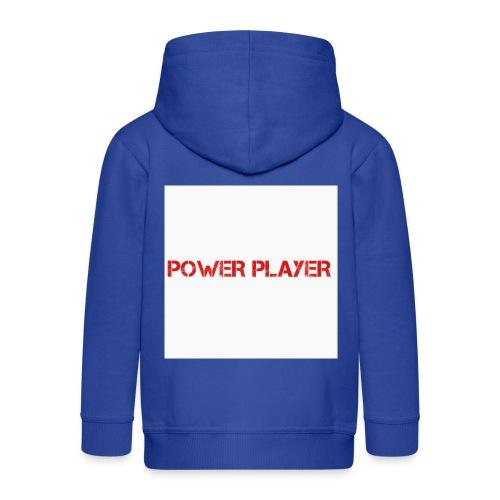 Linea power player - Felpa con zip Premium per bambini