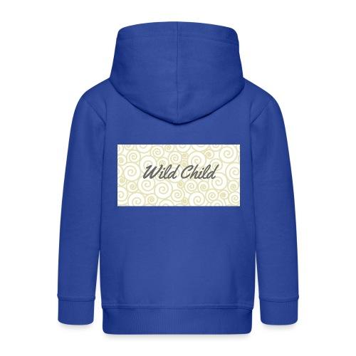 Wild Child 1 - Kids' Premium Zip Hoodie