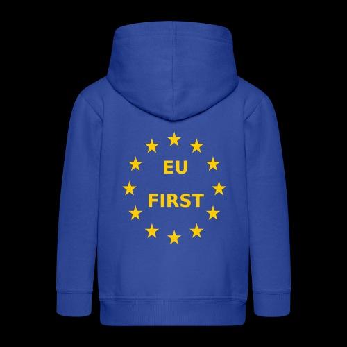 EU First Europe First - Kinder Premium Kapuzenjacke