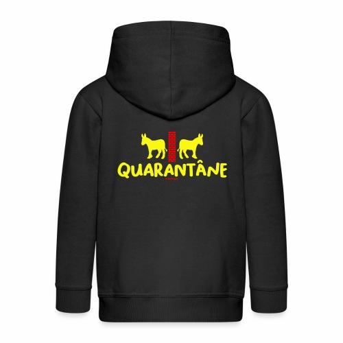 Quarantane - Kinderen Premium jas met capuchon