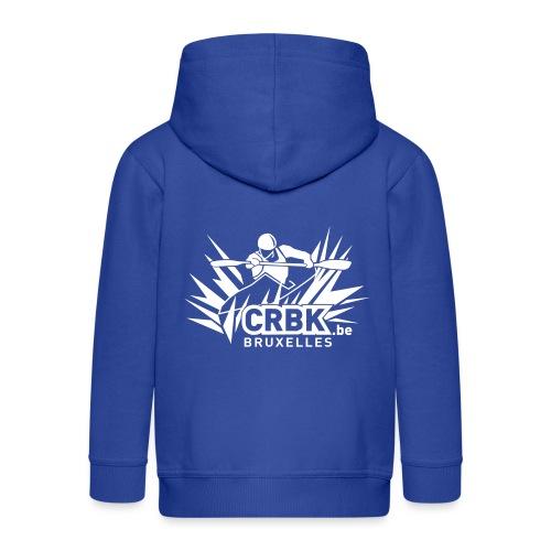 CRBK Logo 1 Color Small - Veste à capuche Premium Enfant