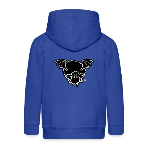 Vampire Sheep (white) - Kids' Premium Hooded Jacket