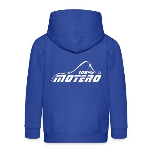 100% Motero - Chaqueta con capucha premium niño
