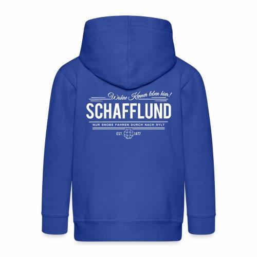 Schafflund - für Kenner 2 - Kinder Premium Kapuzenjacke