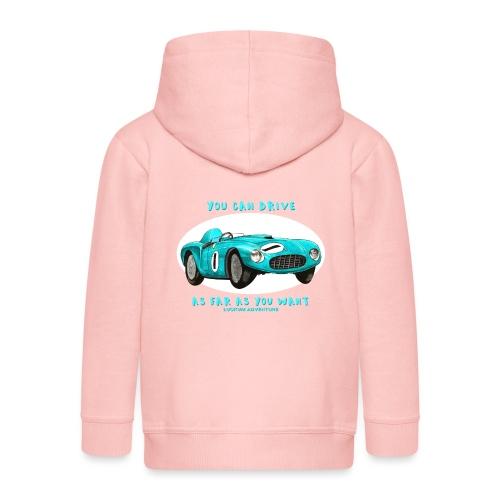 Happy Car Turquoise - Kids - Premium-Luvjacka barn