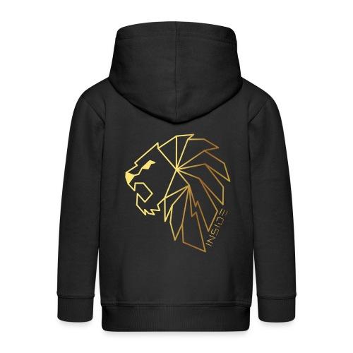 Löwe, Lion Inside - Kinder Premium Kapuzenjacke