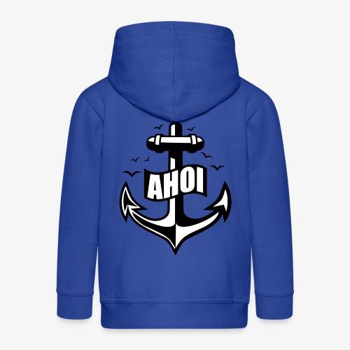 104 Ahoi Anker Möwen maritim - Kinder Premium Kapuzenjacke