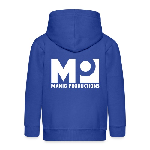 ManigProductions White Transparent png - Kids' Premium Zip Hoodie