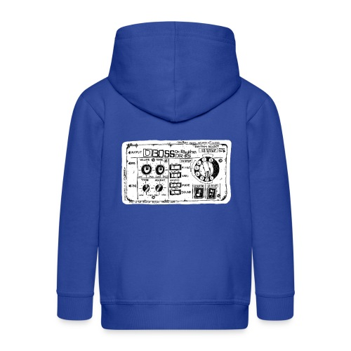 Drum Machine's R Ace! - Kids' Premium Zip Hoodie