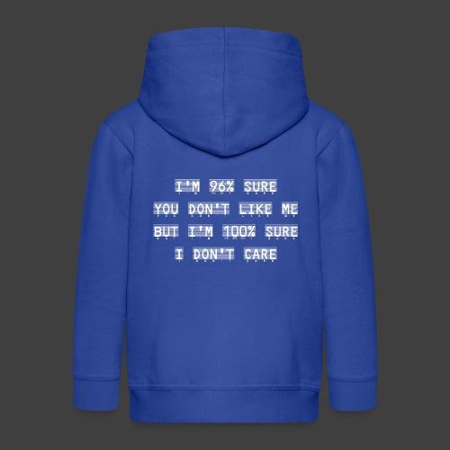 96% - Kids' Premium Hooded Jacket