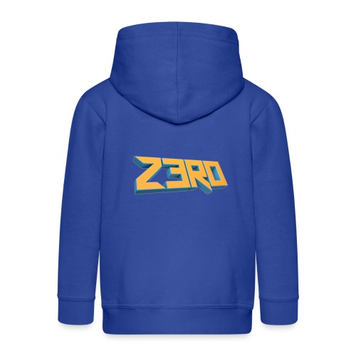 The Z3R0 Shirt - Kids' Premium Zip Hoodie