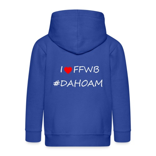 I ❤️ FFWB #DAHOAM - Kinder Premium Kapuzenjacke