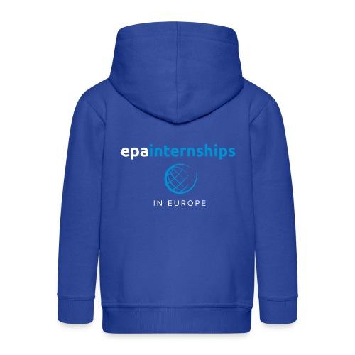 EPA Logo White - Kids' Premium Zip Hoodie