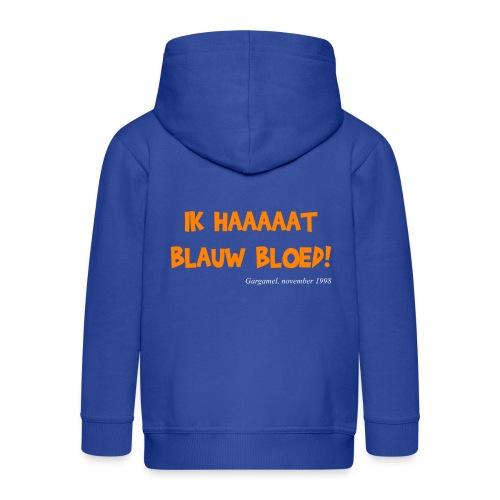 ik haat blauw bloed - Kinderen Premium jas met capuchon
