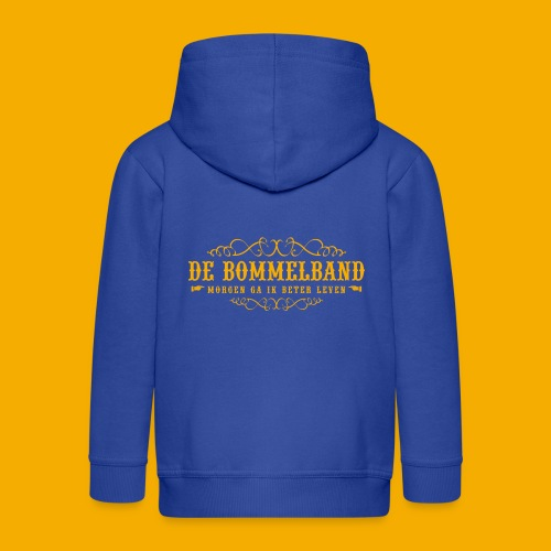 bb tshirt back 01 - Kinderen Premium jas met capuchon