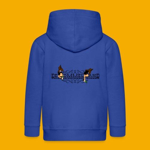 tshirt logo vintage - Kinderen Premium jas met capuchon