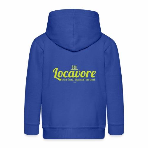 Locavore - Kinderen Premium jas met capuchon