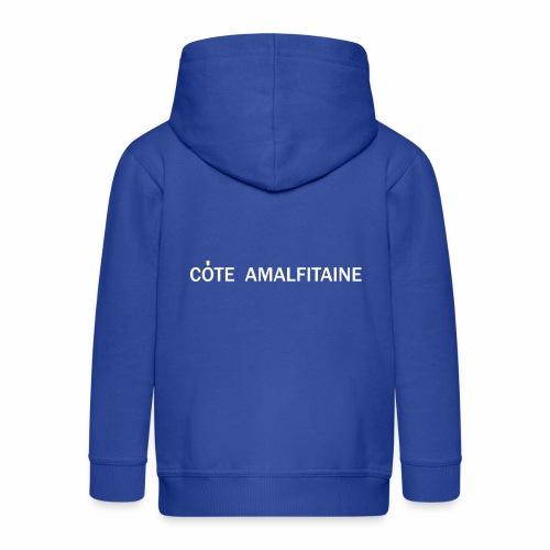 Côte Amalfitaine - Veste à capuche Premium Enfant