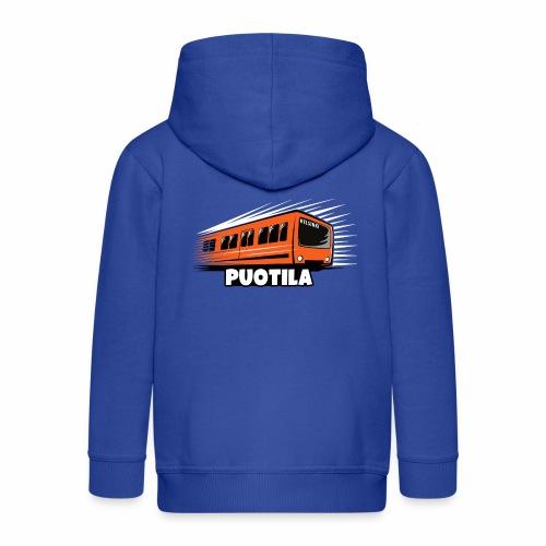 HELSINKI PUOTILA METRO T-Shirts, Hoodies, Gifts - Lasten premium hupparitakki