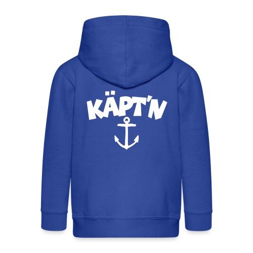 Käpt'n Anker Segeln Segler Kapitän - Kinder Premium Kapuzenjacke