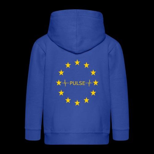 EU Pulse (Europe Pulse) - Kinder Premium Kapuzenjacke
