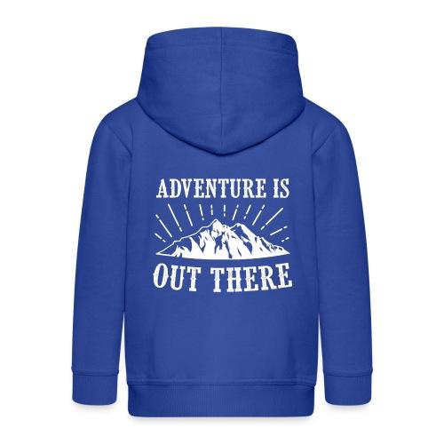 adventure - Rozpinana bluza dziecięca z kapturem Premium