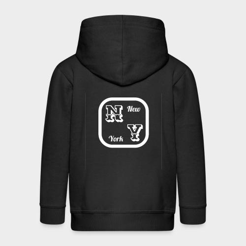 New York - Kids' Premium Zip Hoodie