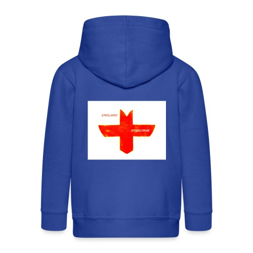Englands in France but out of #EU - Kids' Premium Zip Hoodie