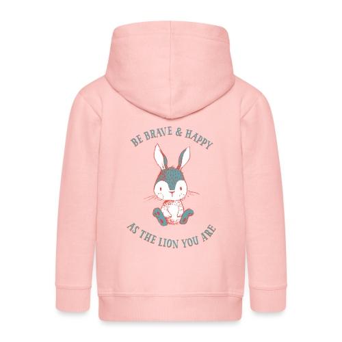 Brave rabbit - Premium-Luvjacka barn