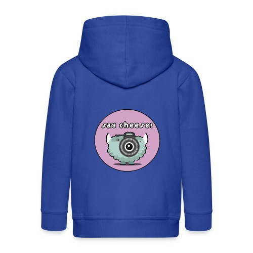 Foton The Monster Camera - Kids' Premium Hooded Jacket