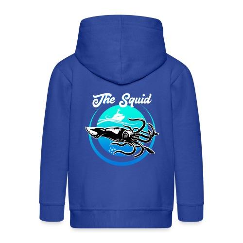 Squid - Kids' Premium Zip Hoodie