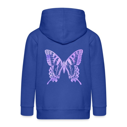Watercolor Butterfly - Veste à capuche Premium Enfant