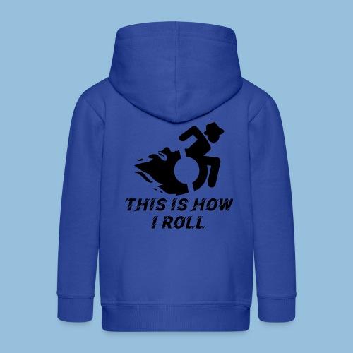 Howiroll12 - Kinderen Premium jas met capuchon
